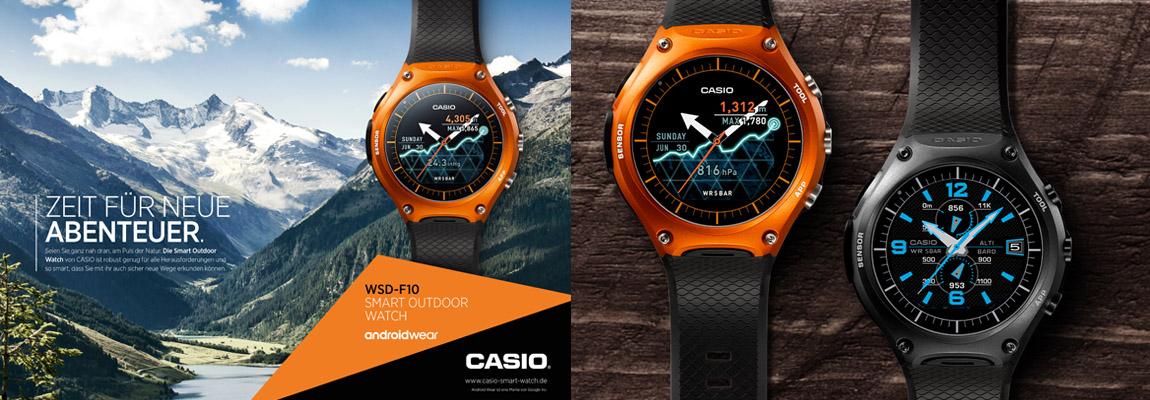 WSD-F10 - Die Smartwatch von Casio - nach amerikanischen Militär-Standard
