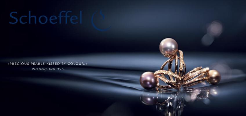 Ringe aus dem Hause Schoeffel mit der neuen Perle. Scarlet Perlen von Schoeffel