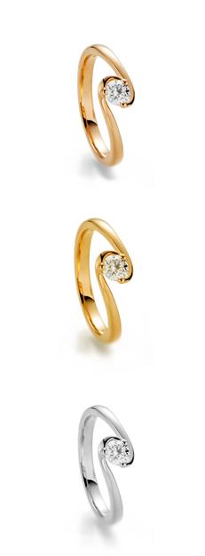 """Ring des Jahres """"Joy""""  aus 750 Gold"""