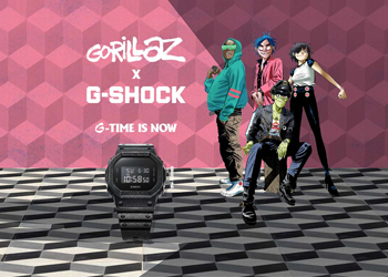 35. Jahre G-shock Collaboration mit Gorillaz